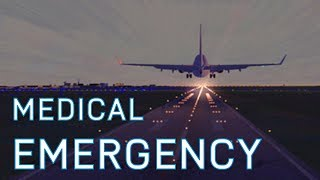 FSX Amsterdam to London Mission | Medical Emergency