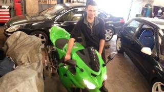 5. Zx10r 2006 HP CORSE exhaust