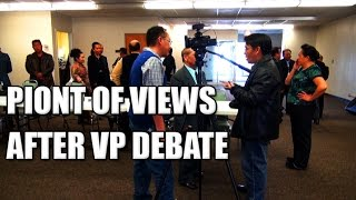 Suab Hmong News:  Candidates' point of views after the VP Debate for Hmong 18C of WI