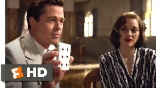 Allied (2016) - Cut For Your Freedom Scene (3/10) | Movieclips