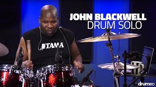We were shocked and saddened to hear the news of John Blackwell's passing. John holds a special place in our hearts at Drumeo. He was one of the first special guests to come give a lesson and truly believed in our message of sharing the love of drumming and music.This is John's drum solo from that session. An incredible display of technique, musicianship, and discipline. He will be missed.You can watch John Blackwell's full Drumeo lesson right here:►https://www.youtube.com/watch?v=8_XOZqHke1o
