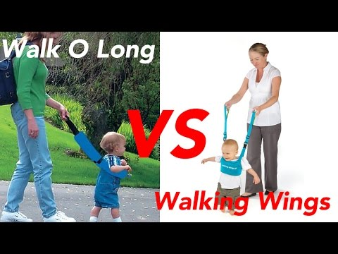 Walking Wings Baby Walker VS Walk O Long Balance Assistant Harness for toddlers 50% off MUST WATCH!