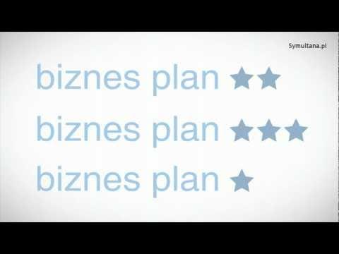 Biznesplan -''co to jest biznesplan?'' (5/8), 3 min. 51 sek.