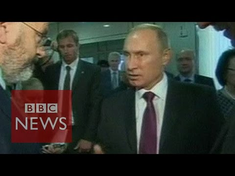 talks - Responding to questions from BBC Panorama's John Sweeney, Russian President Vladimir Putin said the process of direct negotiations was