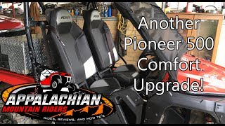 10. Honda Pioneer 500 RZR Bucket Seat Install