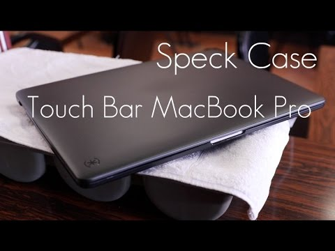 , title : 'Speck Smartshell Case - 2016 MacBook Pro / Touch Bar - Review / Demo'