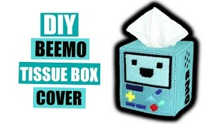 "The new season of Adventure Time is starting soon so I was feeling inspired and made a cute BMO tissue box cover!Supplies:- This pattern that I made:https://drive.google.com/file/d/0B6CQGZr-scX6d3R2RWZ5aWxBdVk/view?usp=sharing- Yarn - The colors I used are: Teal, Light Teal, Black, Red, Light Blue, Blue, Navy Blue, Light Green, Forest Green, and Yellow- Plastic Canvas x 2 sheets- Teal Felt x 3 sheets- Glue- Any Marker- Scissors- Tapestry Needle- X-Acto KnifeMusic: ""Buddy"" www.bensound.comSocial Media:Facebook - https://www.facebook.com/Nerds-Crafts-429809453881170/Twitter - https://twitter.com/nerdsandcraftsInstagram - https://www.instagram.com/nerdsandcrafts/Tumblr - http://nerdsandcrafts.tumblr.com/"