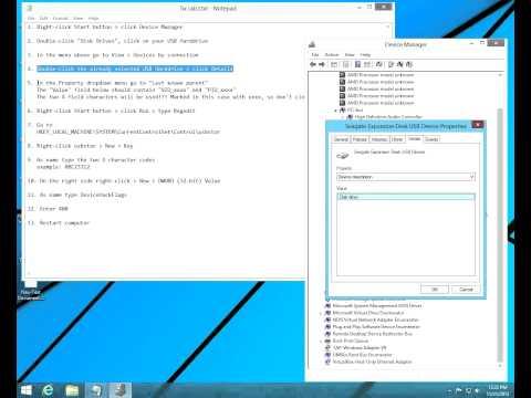 How to Fix USB 3.0 external HDD problem on Windows 8.1