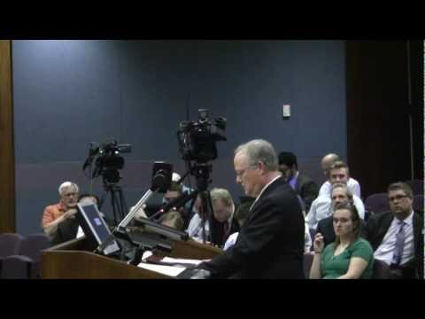 Testimony against proposed Omaha municipal LGBT protection ordinance Video