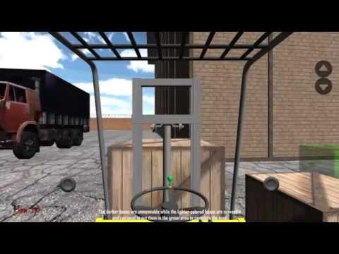 Video of Forklift Simulator 3D