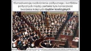 Historia RP NP   Lekcja 40  Narodziny III Rzeczypospolitej -- Polska u schyłku XX wieku