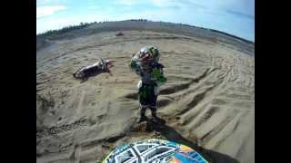 10. 2012 Kx 85 crash