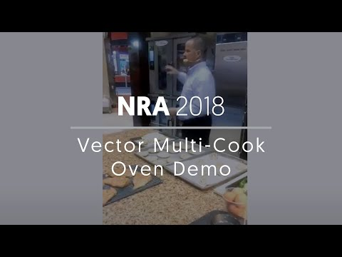 Vector Multi Cook Oven Demo NRA 2018