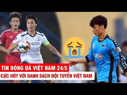 VN Sports 27/5 | CỰC HÓT danh sách đội tuyển Việt Nam dự King's Cup 2019: Tuấn Anh trở lại - Thời lượng: 12:18.