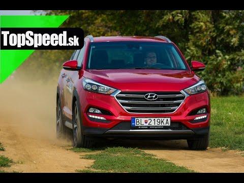 Test Hyundai Tucson 1.6 T-GDi TopSpeed.sk