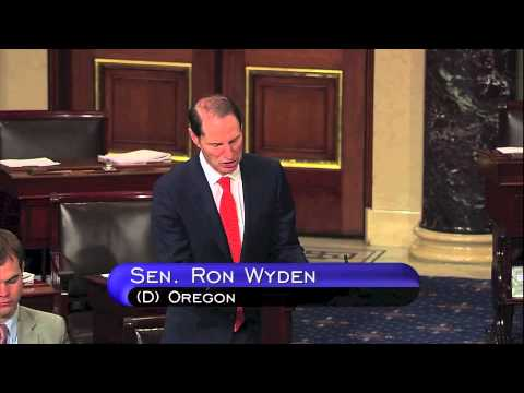 Senator Ron Wyden's Speech to End the Warrantless Wiretap Program