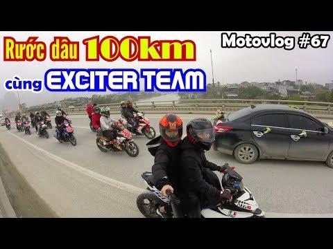 EXCITER 150 trong hành trình rước dâu 100km từ Hòa Bình về Hà Nam | Motovlog 67 - Thời lượng: 10 phút.