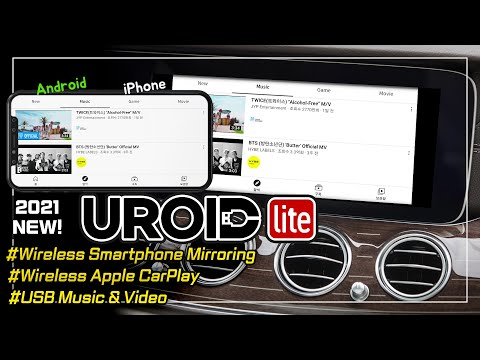 (Uroid Lite) Wireless Iphone/Android Mirroring / Wireless ca…