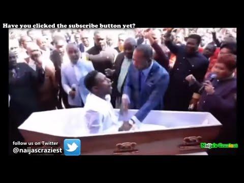 Pastor Alph Lukau Raises Brighton Moyo Back From The Dead
