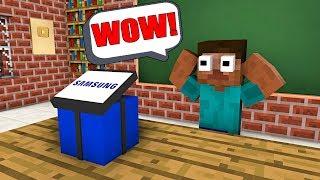 Video Monster School : FREE GIFT FROM SAMSUNG - Minecraft Animation MP3, 3GP, MP4, WEBM, AVI, FLV Februari 2019