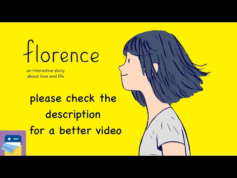 Florence: iOS iPhone Gameplay & Full Game Walkthrough (by Annapurna Interactive)