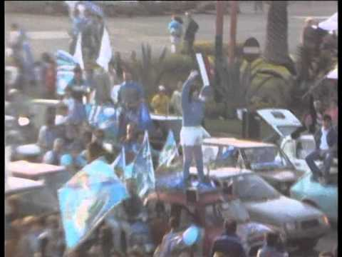 10 maggio 1987: scudetto napoli, azzurri in festa!