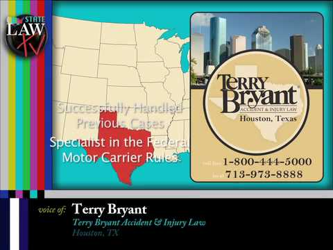 Dangers of Semi-Trucks on the Roadway – Houston Truck Accident Lawyers, Terry Bryant
