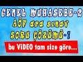 2 HIZLI konu anlatım videosu [Vize