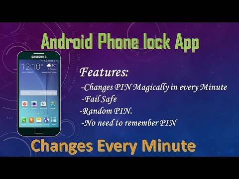Best Android lock screen app   PIN Changes every minute 2017