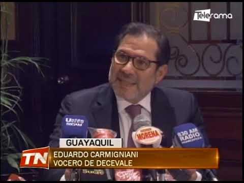 Decevale no recibió dinero del ISSPOL, asegura abogado Eduardo Carmigniani