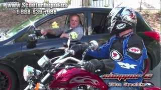 7. Custom bike,  Sunny 250cc CP_D250B Performance on Road