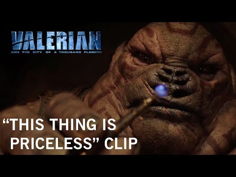 Valerian and the City of a Thousand Planets (Clip 'This Thing Is Priceless')