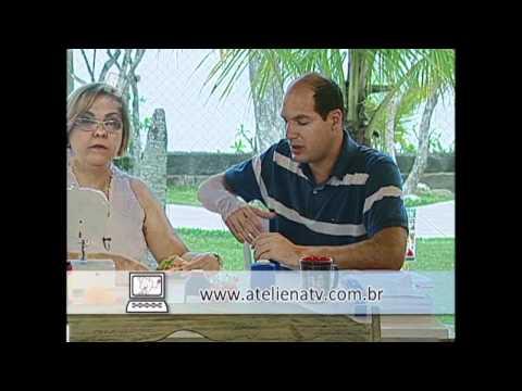 Patchwork Ana Cosentino: Bolsa de Praia ( ESPECIAL DE VERÃO ATELIÊ NA TV)
