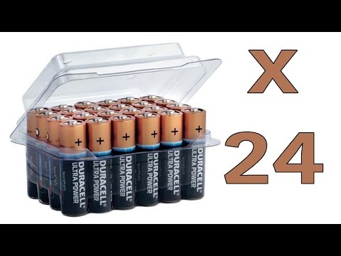 Duracell Ultra Power MX1500 MN1500 AA/Mignon Batterie 24-Pack