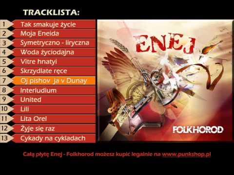 Tekst piosenki Enej - Oj pishov ja w Dunay po polsku