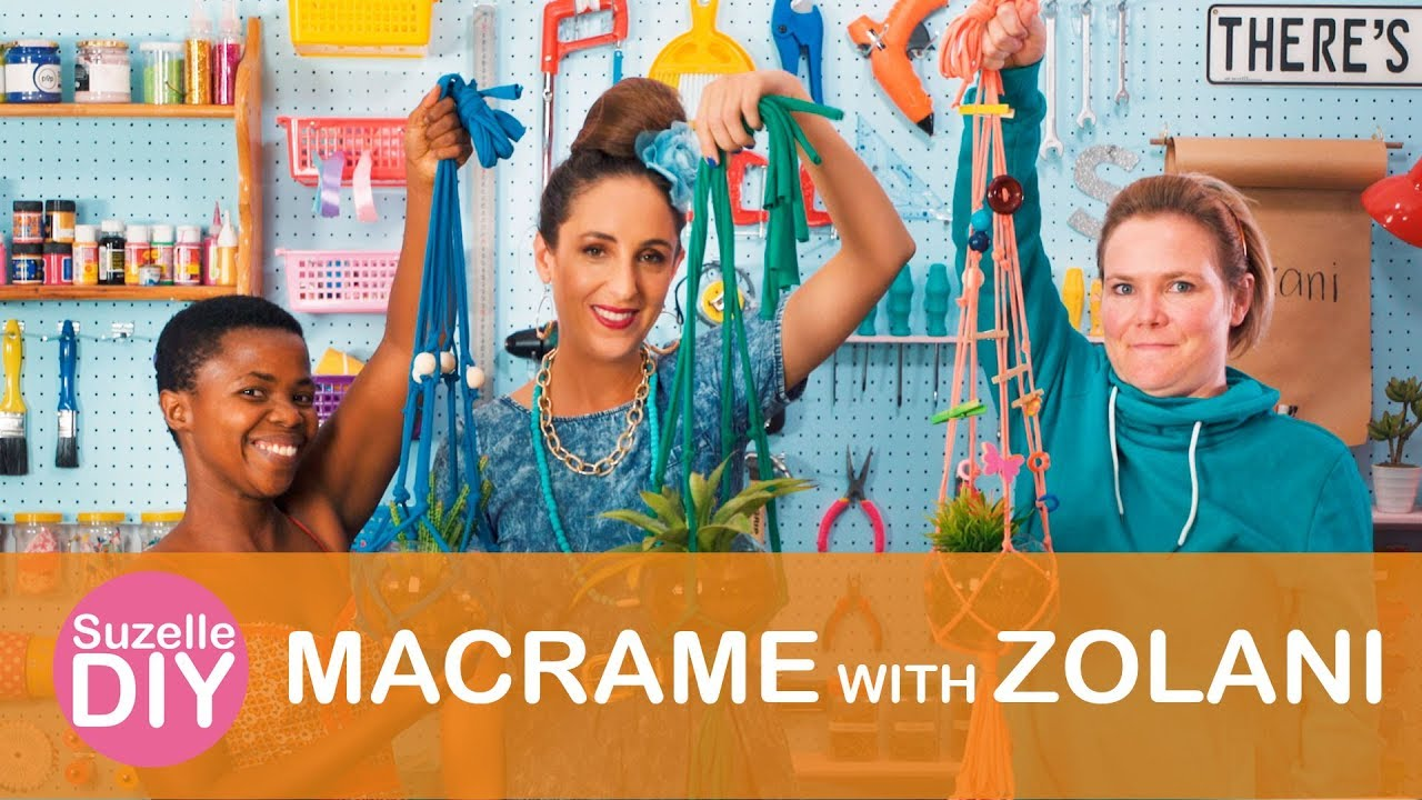 How to Make Macrame with Zolani-graphic