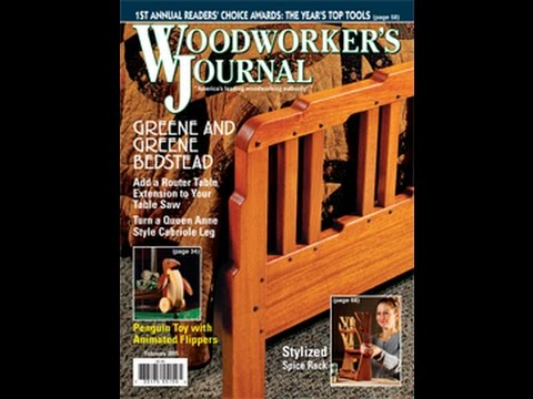 Woodworker's Journal January-February 2015