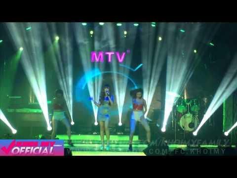 Khởi My – Thà Rằng Như Thế (Live Remix) – MTV Võ Văn Tần 8/4