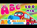 ABC Train Song | ABC Songs for Children | Nursery Rhymes | BEST Nursery Rhymes Collection