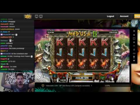 Big win on Medusa 2 slot
