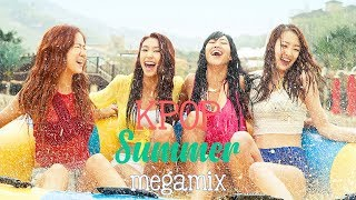 Video Kpop Summer Megamix 🏖 MP3, 3GP, MP4, WEBM, AVI, FLV September 2018