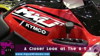 4. Kymco MXU 270 Recreational ATV 2017 give your REVIEW & Opinion this All Terrain Vehicle