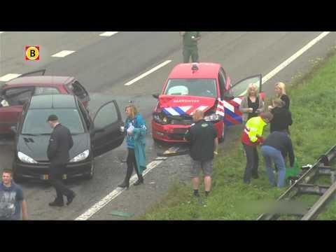 Chauffeur uit Etten-Leur in shock na ongeluk in mist