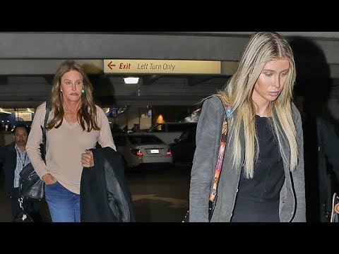 Caitlyn Jenner And Girlfriend Sophia Hutchins Return From New York