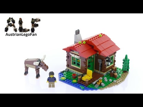Lego Creator 31048 Lakeside Lodge Model 1of3 - Lego Speed Build Review