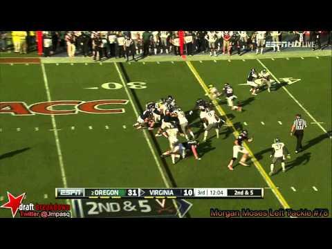 Luke Bowanko vs Oregon 2013 video.