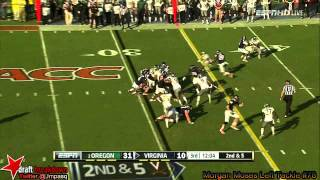 Morgan Moses vs Oregon (2013)