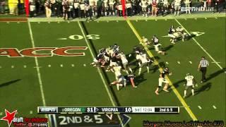 Morgan Moses vs Oregon (2013)