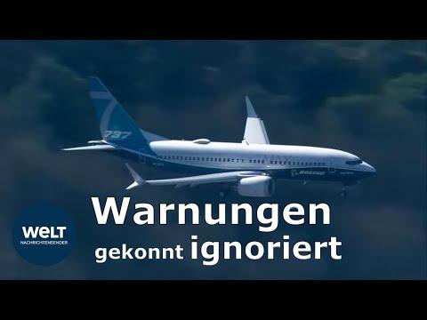 BOEING 737 MAX: Manager äußerte vor den Abstürzen groß ...