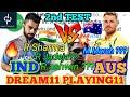 IND vs AUS 2nd Test Match Dream11 & Cricduel Team   R Ashwin, R Sharma, jaddu ? , Bhuvi ? ,Umesh ?